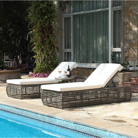 Pavilion 3-piece Outdoor Lounge Set