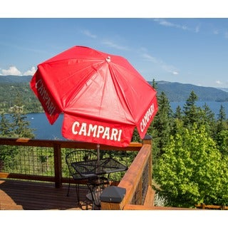 Campari 6-foot Vinyl Outdoor Umbrella