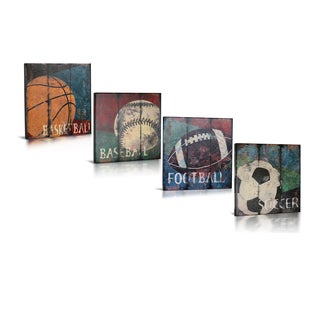 'My Sports' Canvas Gallery Wrapped Art