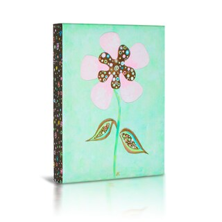 'Flower' Canvas Gallery Wrapped Art