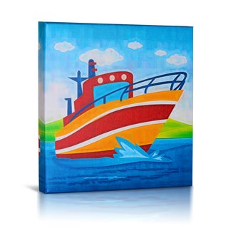 'My Boat' Canvas Gallery Wrapped Art