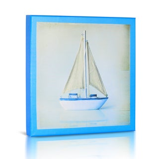 'Sailboat II' Canvas Gallery Wrapped Art