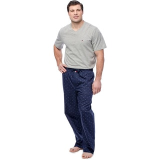 Tommy Hilfiger Men's Grey and Navy Short Sleeve Pajama Box Set