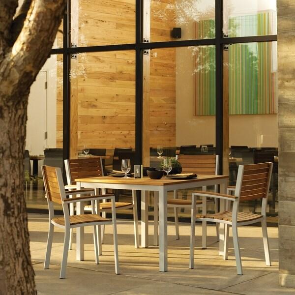 Oxford Garden Travira 5-piece 39 inch Table Set