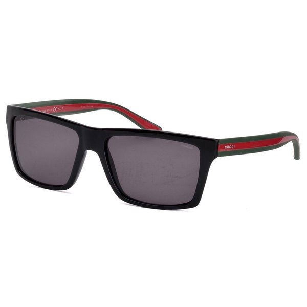 055f6b27c6b Shop Gucci Men s 1013 S Polarized Sunglasses - Black - Free Shipping ...