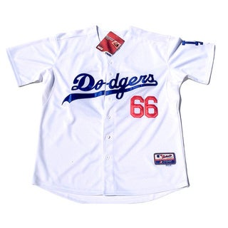 Los Angeles Dodgers #66 Yasiel Puig Grey Cool Base Stitched Baseball Jersey