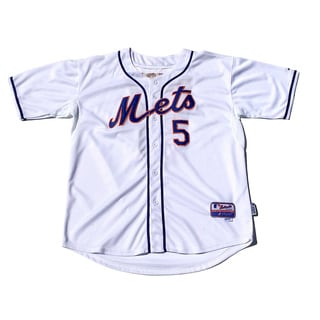 New York Mets no. 5 David Wright White Cool Base Stitched MLB Jersey