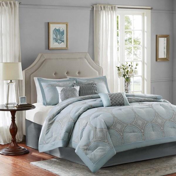 Madison Park Crystal 7-Piece Comforter Set