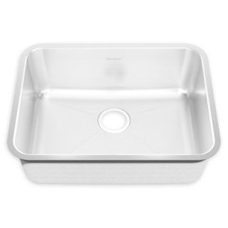 American Standard Prevoir Undermount Steel 18.750 24.750 14sb.251900.073 Brushed Stainless Steel Kitchen Sink
