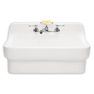 American Standard Country Porcelain White Utility Sink