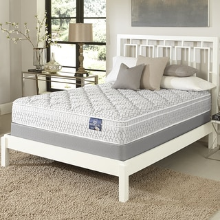 Serta Gleam Euro Top California King-size Mattress Set