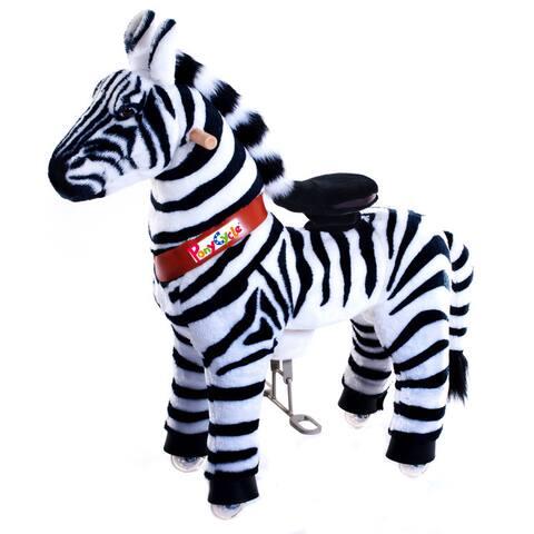 Vroom Rider PonyCycle Ride-On Zebra