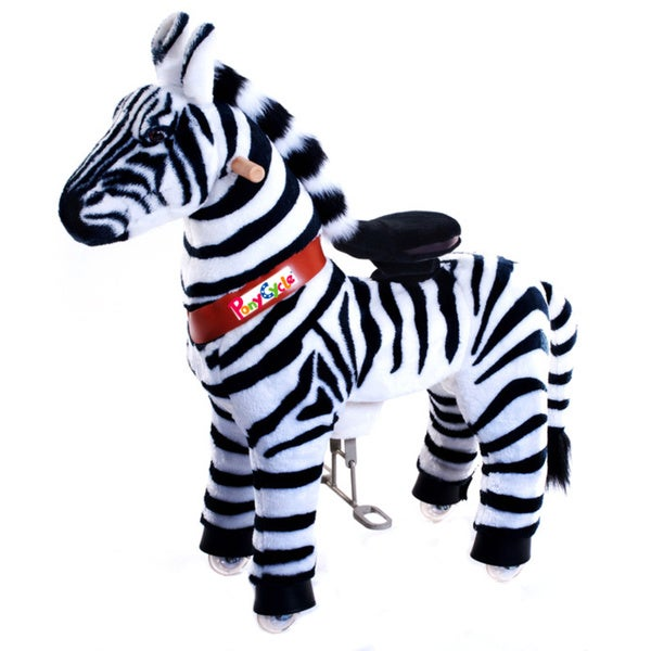 Vroom Rider PonyCycle Ride-On Zebra