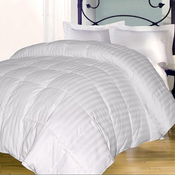 Supreme 350 Thread Count Cotton Damask Down Alternative Comforter