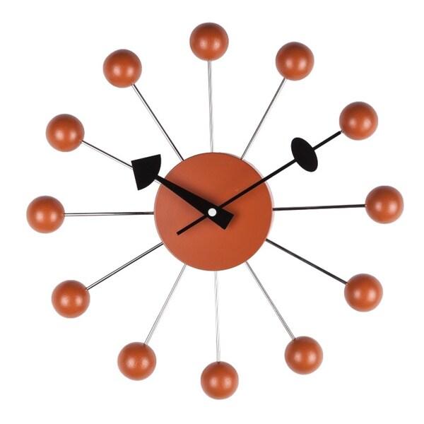 Hans Andersen Home Orange Ball Clock