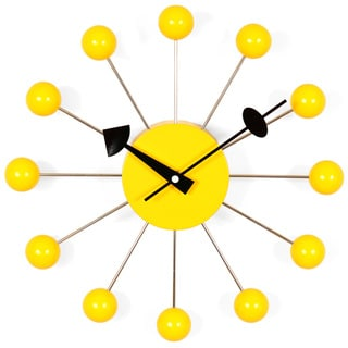 Hans Andersen Home Yellow Ball Clock