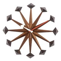 Hans Andersen Home Mid-Century Sicily Style Clock
