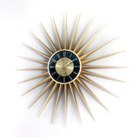 Hans Andersen Home Sunburst Clock