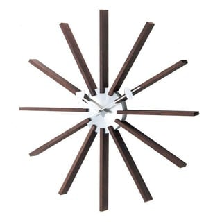 Hans Andersen Home Squared Spindle Wall Clock