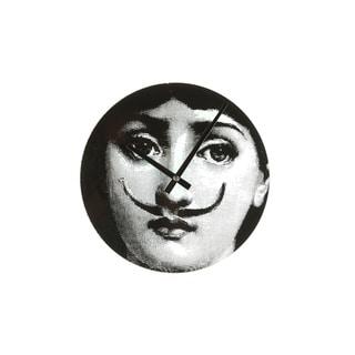 Hans Andersen Home Mid Century Girl Moustache Clock