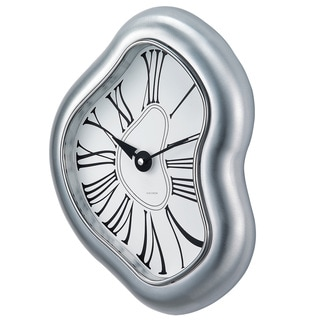 Hans Andersen Home Melted Metal Clock