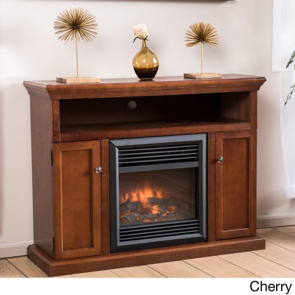 Homestead Electric Fireplace Mantel with Remote Control by