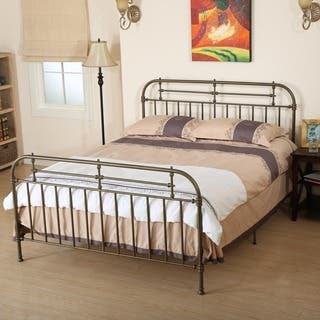 Nathan Queen Sized Metal Bed Frame by Christopher Knight Home|https://ak1.ostkcdn.com/images/products/10170616/P17298400.jpg?impolicy=medium