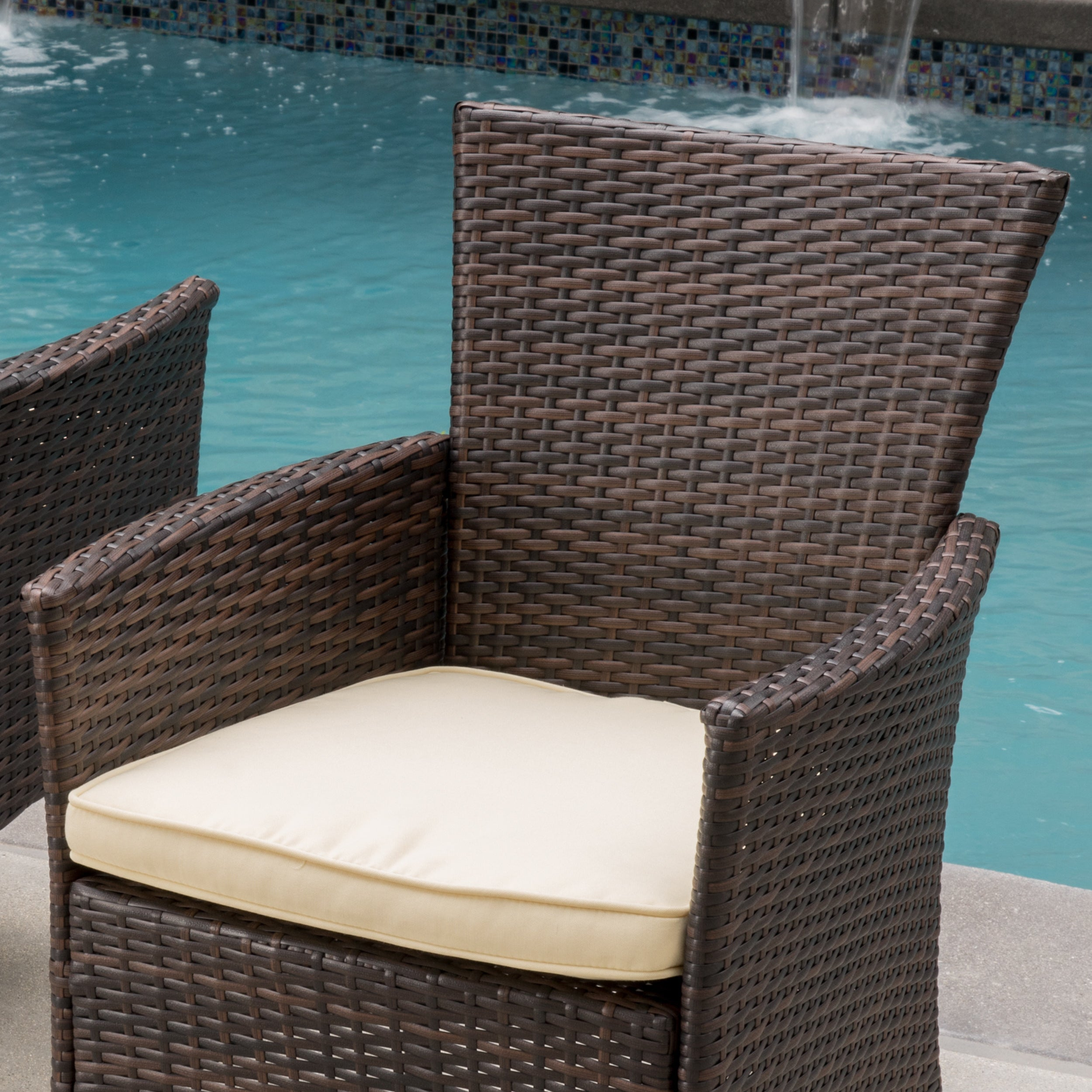 Help. Help. Christopher Knight Home Malta Outdoor Wicker Dining Chair ...