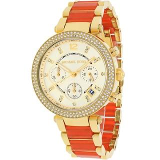 Michael Kors Women's MK6139 Parker Round Two-tone Bracelet Watch