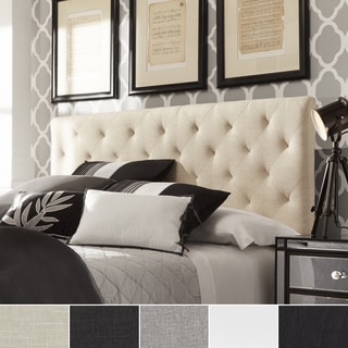 TRIBECCA HOME Sophie Tufted King-sized Upholstered Headboard