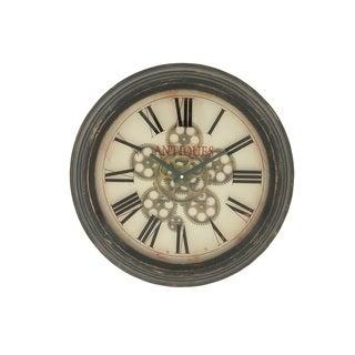 Stylish Vintage Themed Metal Wall Clock