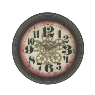 Stunning Round Metal Wall Clock