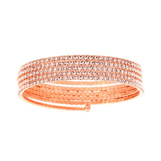 Isla Simone Five-row Flexible Bangle