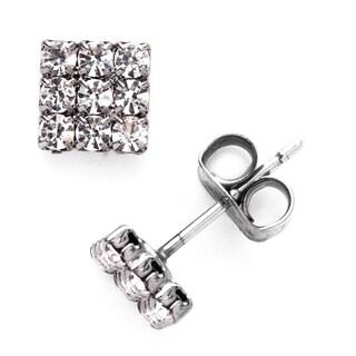 Isla Simone Crystal Stud Earring