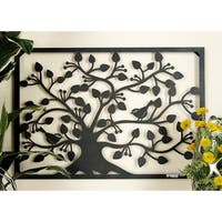 Studio 350 Metal Outdor Tree Wall Plaque 32 inches wide,22 inches high