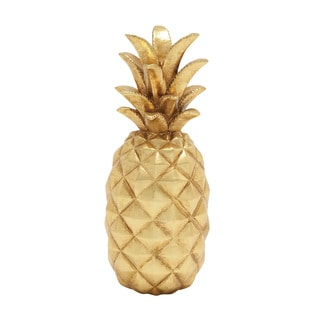 Lovely and Sparkly Golden Pineapple Decor
