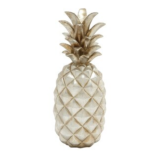 Astounding Silver Pineapple Decor
