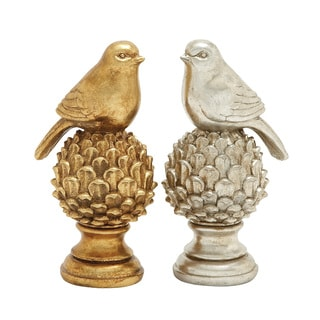Staggeringly Designed 2 Assorted Bird Decor