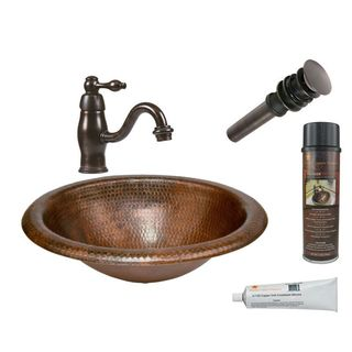 Premier Copper Products LO18RDB Faucet Package with Single Handle