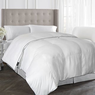 Elle 1000 Thread Count Pinstripe Down Alternative Comforter