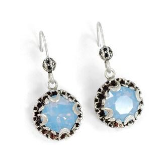 Sweet Romance Crystal Dot Boho Earrings