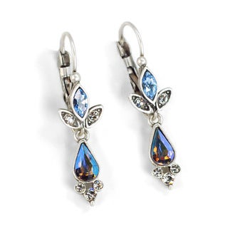 Sweet Romance Marquis and Pears Drop Earrings