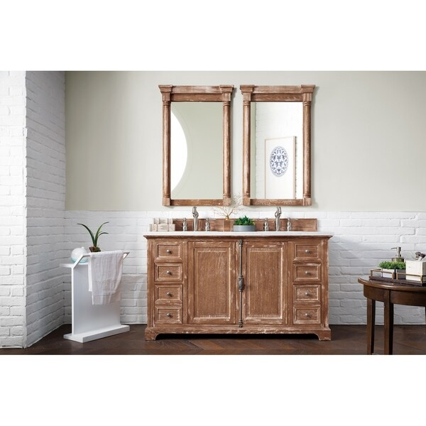 Shop James Martin 60 Inch Double Bath Vanity Free Shipping