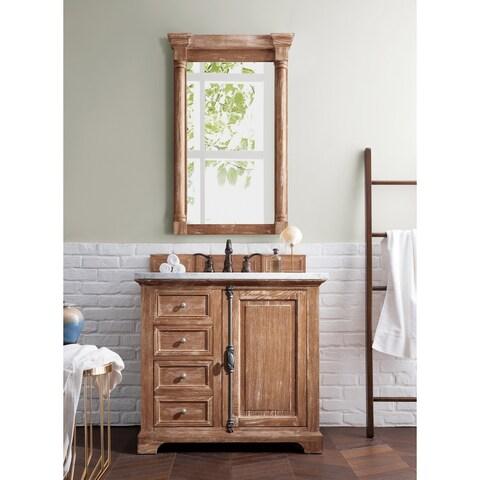 "Providence 36"" Single Vanity Cabinet, Driftwood"