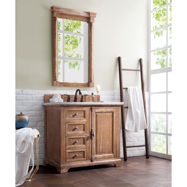 Shop Providence 36 Single Vanity Cabinet Driftwood Free Shipping Today