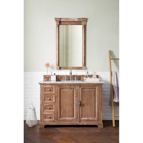 "Providence 48"" Single Vanity Cabinet, Driftwood"