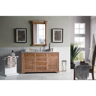 "Savannah 60"" Single Vanity Cabinet, Driftwood"