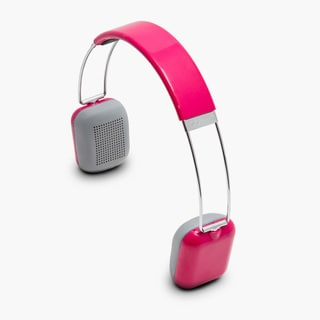 Rendezvous Pink Bluetooth 3.0 Wireless On-ear Headphones
