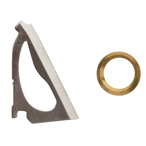 Wac'em 3 Blade Crossbow 125 Grn Replacement Blades and Rings
