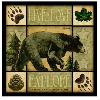 American Expedition Square Coasters Lodge Series (Set of 4)